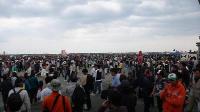 三沢基地航空祭2009前編-会場の様子