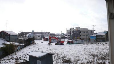 2010年1月1日の五戸町の様子