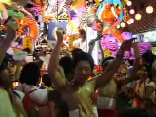 動画内からクリップ3:五戸町博労町の山車の皆様