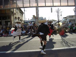 南部駒踊りの演技風景