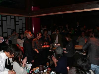 写真:CSS Nite主宰 鷹野さんの誕生日