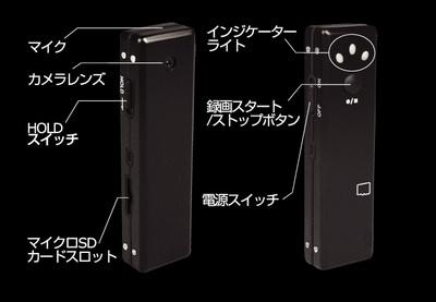 操作ボタン(MICRO MIRUMIRU BGW-063)