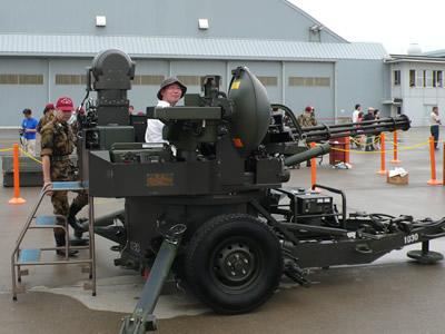 自衛隊高射砲とmd