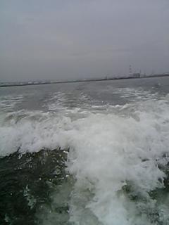 海の上からblogを更新