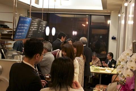 写真:hati style project kikiのオープニングパーティ