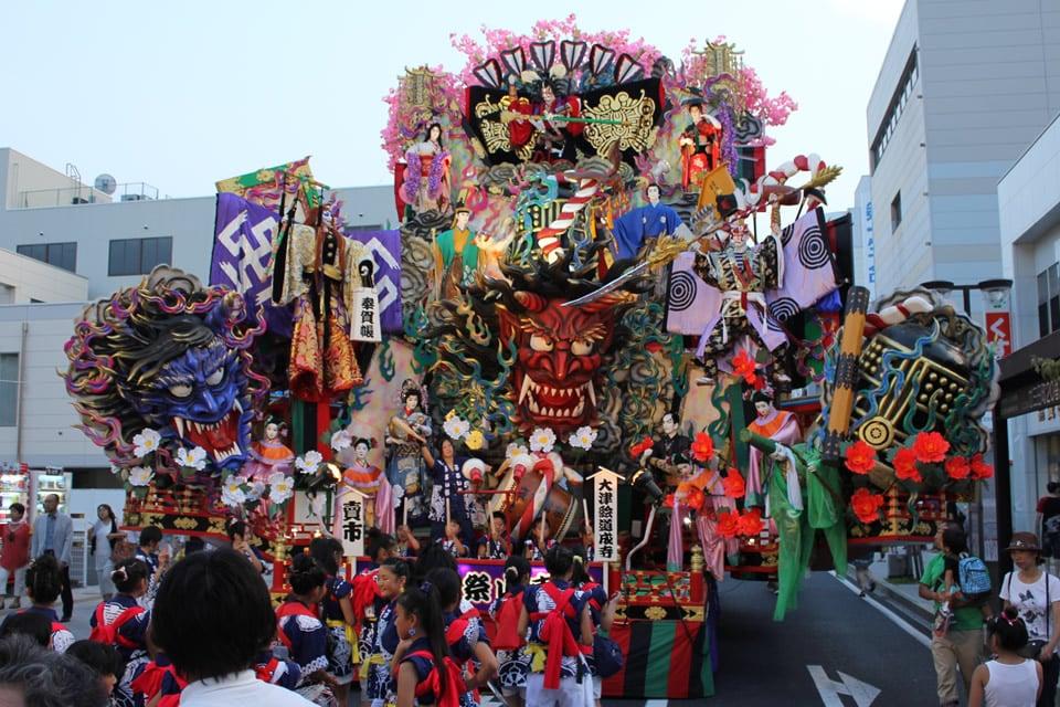 八戸三社大祭・山車の写真