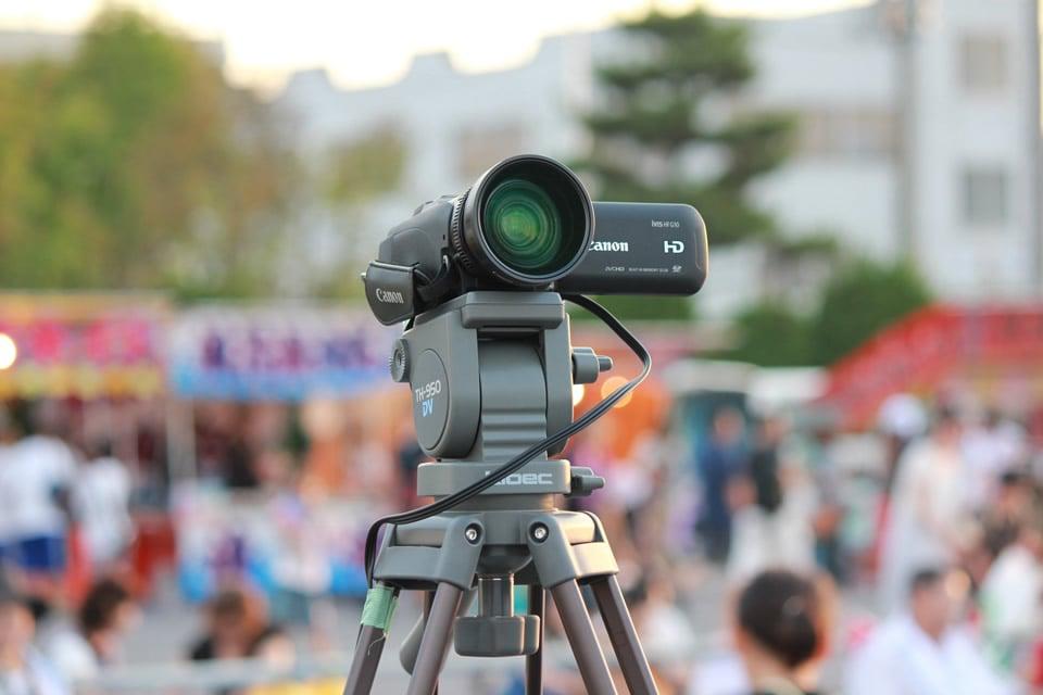 もう1台のビデオカメラ