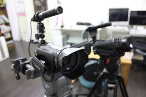 映像事業用カメラ