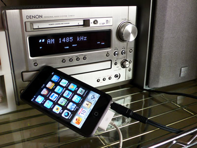 DENON-ME33とiPod Touch