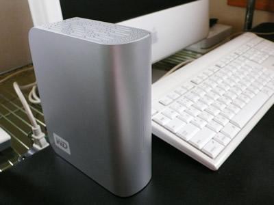 Time Machine用外付けHDD(MyBook 1TG)