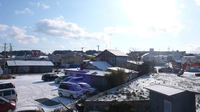 2009年の青森の雪(五戸町)